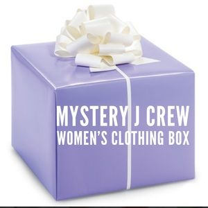 J Crew Women's Clothing Mystery Box NEW
